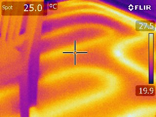 In-slab heating operating properly